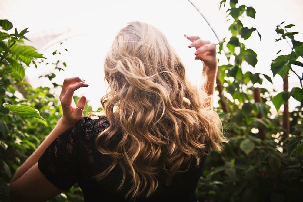 Blonde Woman With Beautiful hair