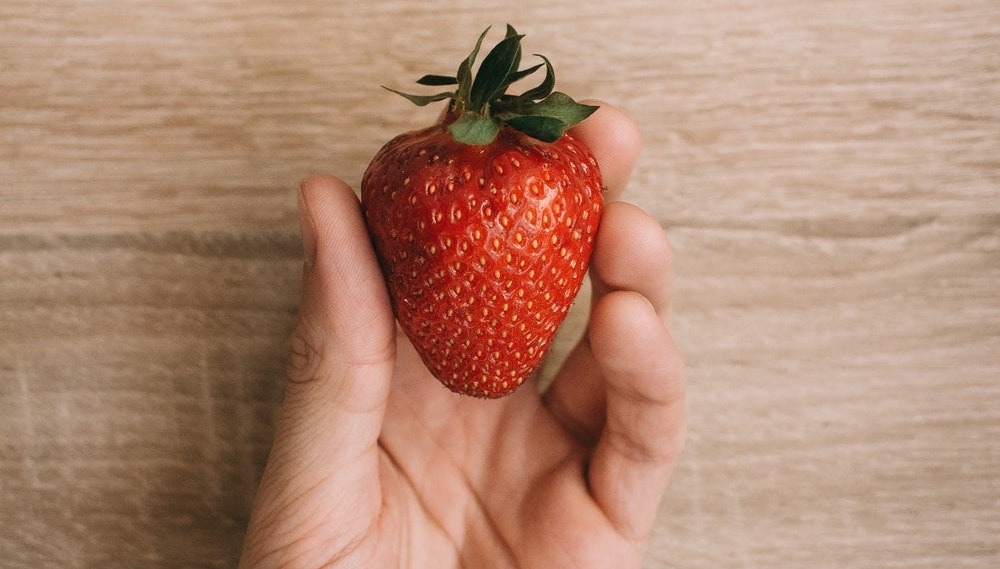 Delicious Ripe Strawberry