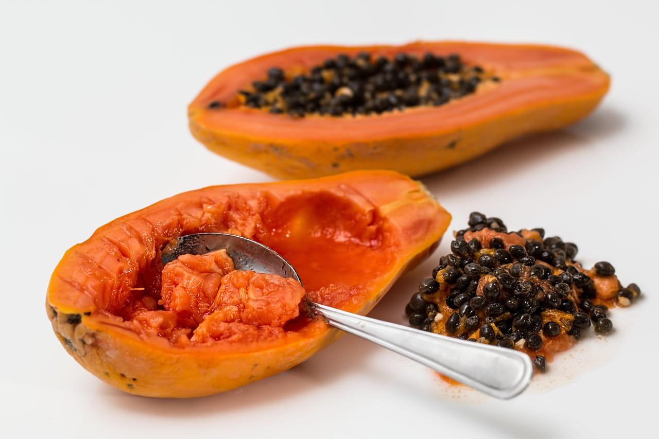 Tropical Papaya Fruit