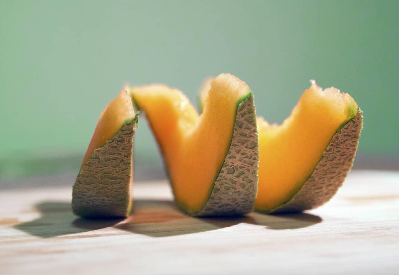 cantaloupe fruit melon