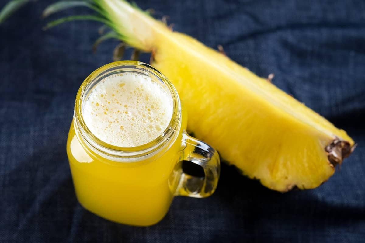 Tasty Pineapple juice
