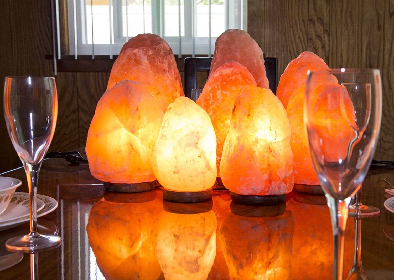 Crystal Decor Dimmable Himalayan Salt Lamp